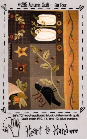 Autumn Quilt Block of the Month Blocks 10,11,12 and Borders