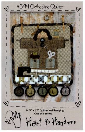 PT W Heart to Hand Clothesline Quilter