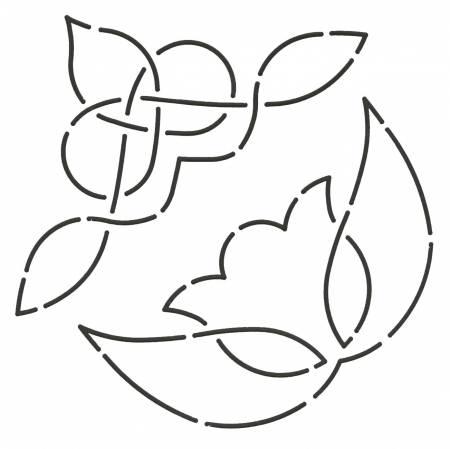 Tulip & Norse Triangles 7x9 HW132