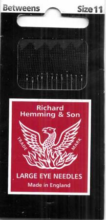 Richard Hemming Between / Quilting Needles Size 11 12ct