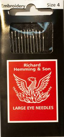 Richard Hemming Embroidery / Crewel Needle Size 4