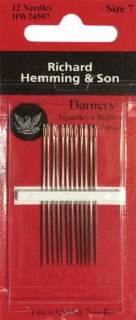 Richard Hemming Darners Needle Size 7 12ct