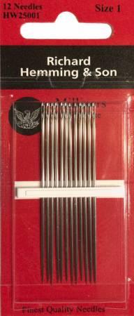 Richard Hemming Milliners / Straw Needles Size 11 12ct