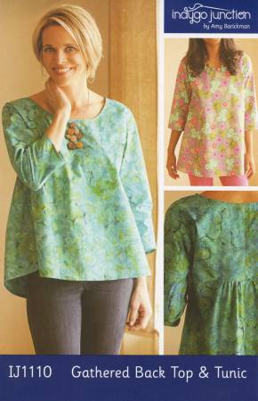 Gathered Back Top & Tunic by Indygo Junction