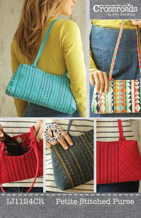 Petite Stitched Purse by Indygo Junction