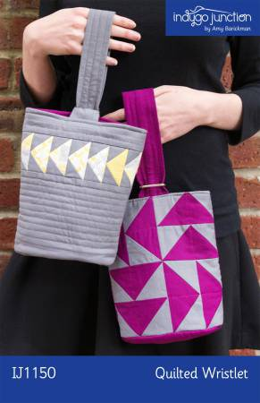 (P35) Quilted Wristlet