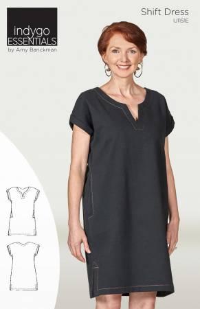 Indygo Essentials Shift Dress Pattern