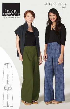 Artisan Pants Pattern - Indygo Essentials