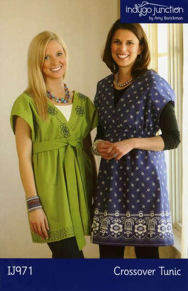 Crossover Tunic Pattern by Indygo Junction