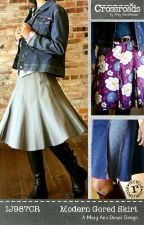 Modern Gored Skirt
