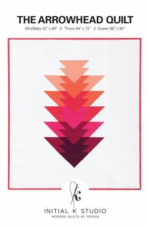 Arrowhead Quilt Pattern - Initial K Studio