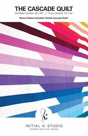 Cascade Quilt Pattern - Initial K Studio