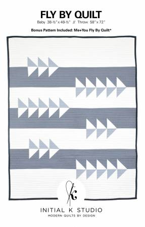 Fly By Quilt Pattern - Initial K Studio
