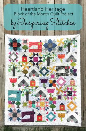 Heartland Heritage Block Of The Month Postcard Patterns
