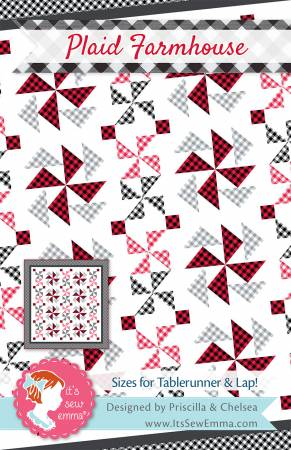 Plaid Farmhouse Quilt kit