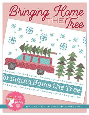 Bringing Home The Tree Cross Stitch Kit