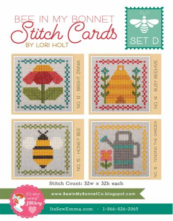 Stitch Cards - Set D