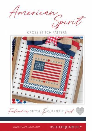 American Spirit Cross Stitch Pattern