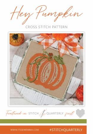 Hey Pumpkin Cross Stitch Pattern