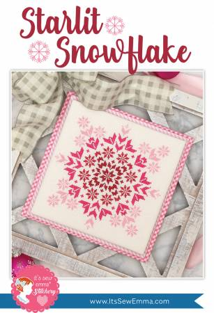 Starlit Snowflake Cross Stitch Pattern