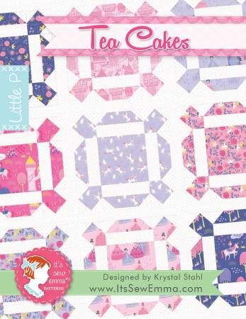 KIT: Tea Cakes includes Background Fabric