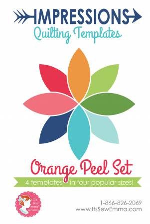 Impressions Quilting Templates - Orange Peel Set