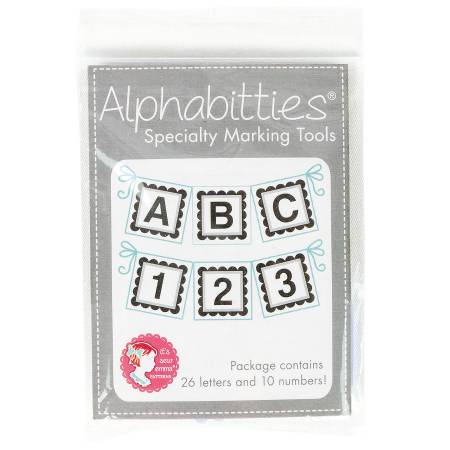 Grey Alphabitties Specialty Marking Tools