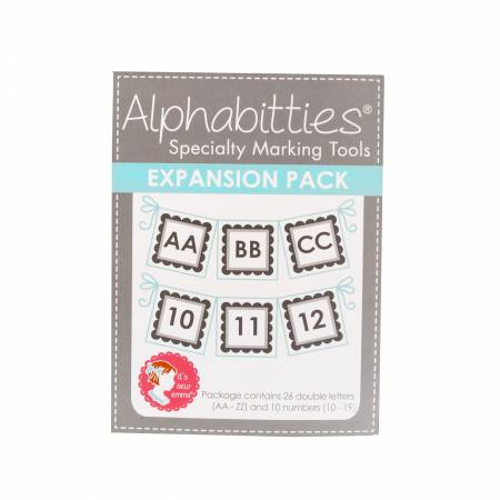 Gray Alphabitties Expansion Pack