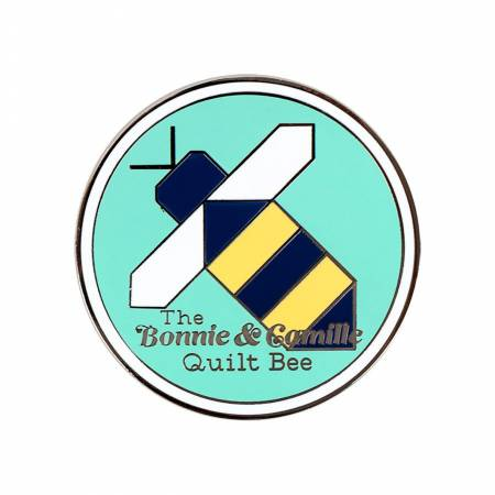 Quilt Bee Enamel Needle Minder