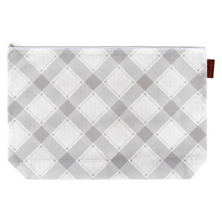 Charcoal Mad for Plaid Project Bag