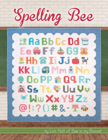 Spelling Bee Quilt Pattern Book by Lori Holt