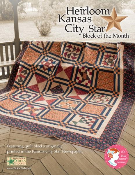 Heirloom Kansas City Star Block of the Month