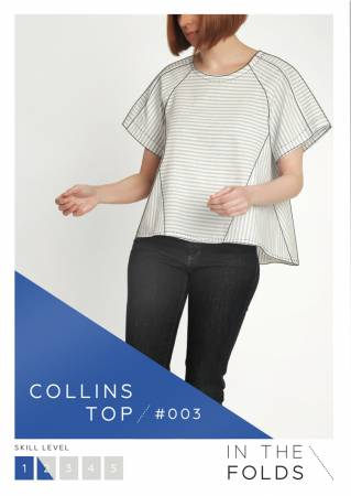 Collins Top Pattern by In the Folds
