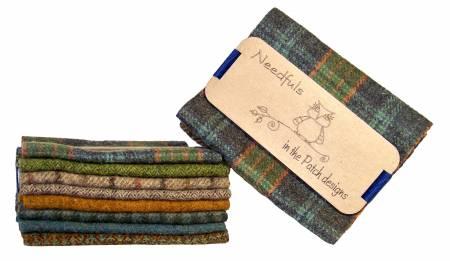 Woolen Needfuls Bonnie Ocean 6 X 13 - 8 PIECES