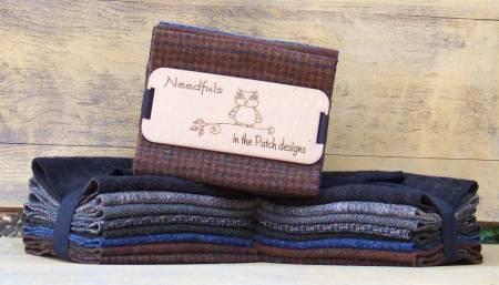 Wool Needfuls Dark Matter 6 X 13 - 8 PIECES