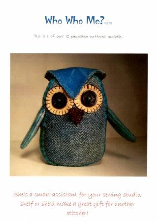 Who Who Me Pincushion Kit