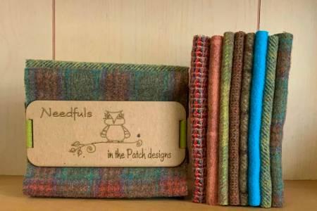 Woolen  Needfuls May 6 x 13 - 8 pieces