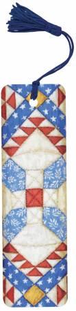 Bookmark Patriotic Quilt