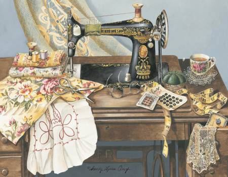Sewing Machine Note Cards