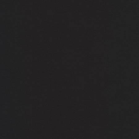Robert Kaufman - Black Stretch Twill 7.5oz - Black