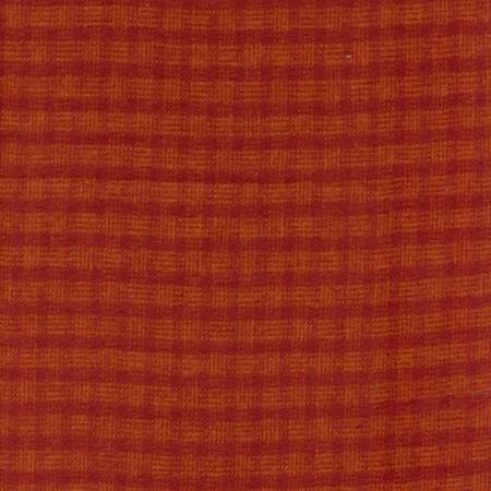 MF Primo Plaid Yarn Dyed Flannel - Orange