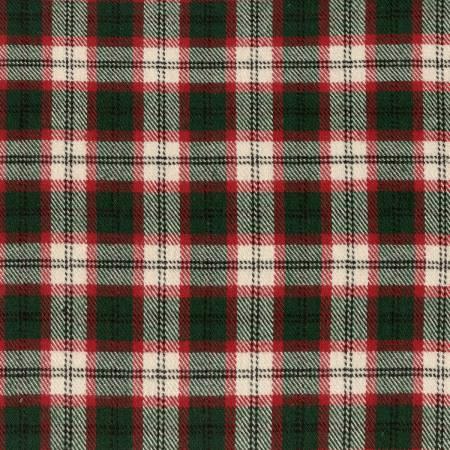 Green Tartan Yarn Dyed Flannel MF021821