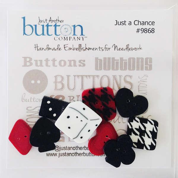 Just A Chance Button Collection
