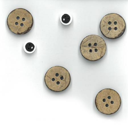 The Wooden Bear Button Pack Wall Hanging Set T02, T03, T06, T08, T10