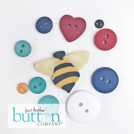 Button, Scalloped Tea Towels 11pc