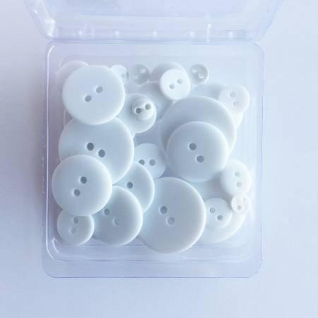 Button Up White Wedding