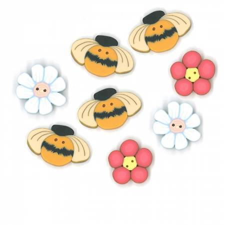 Button Pack for Busy Bees Topper
