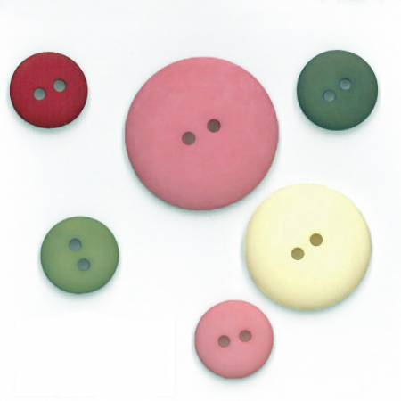 Sew Merry Button Pack 6pc