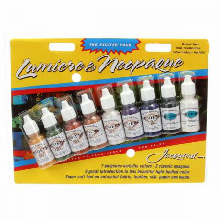 Paint Sampler 9 Pack Lumiere Neopaque