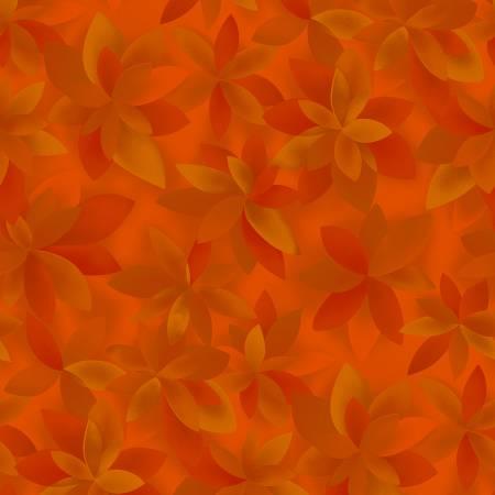 Playa - Orange Palms by RJR